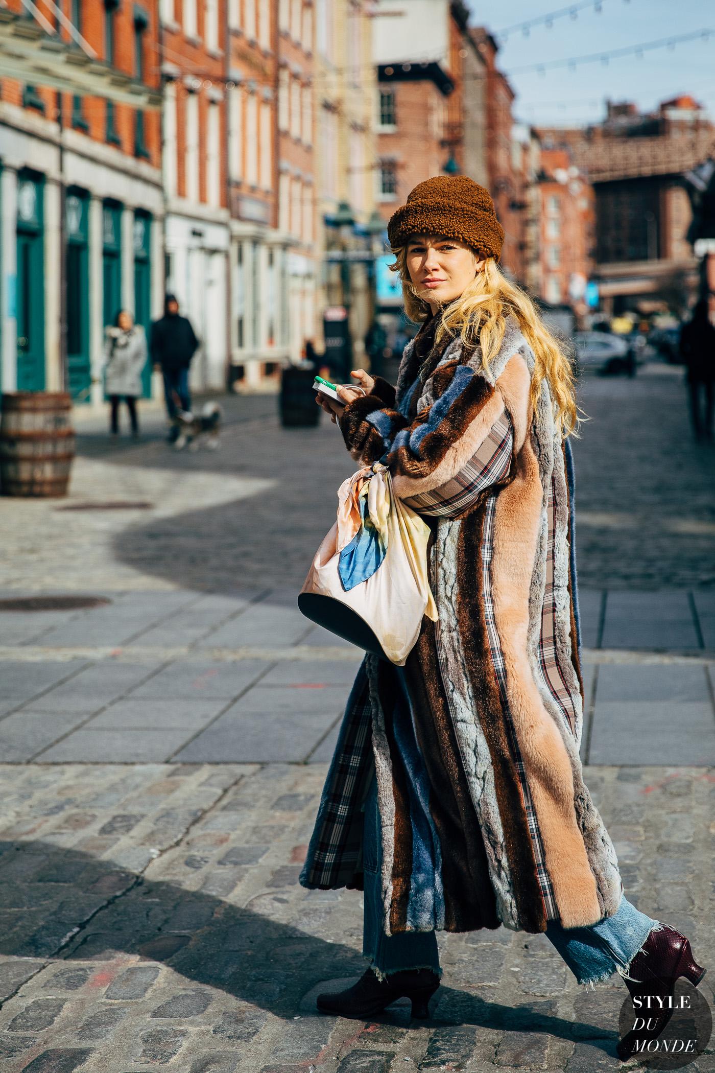 New York FW 2019 Street Style: Aleali May - STYLE DU MONDE