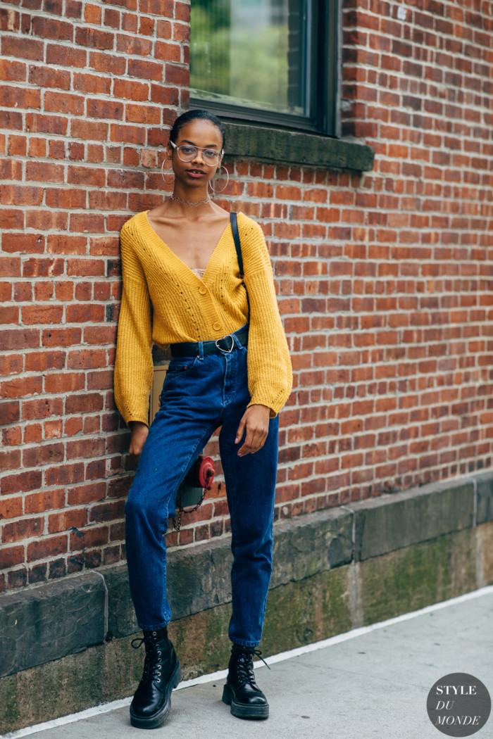 New York SS 2020 Street Style: Aaliyah Hydes