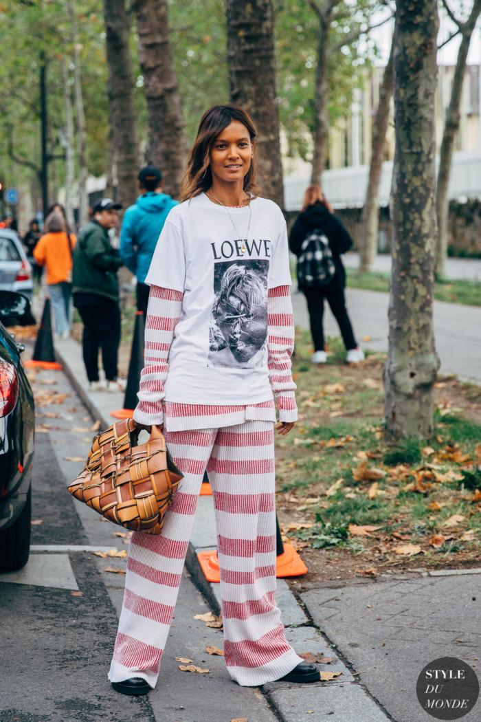 Paris SS 2020 Street Style: Liya Kebede