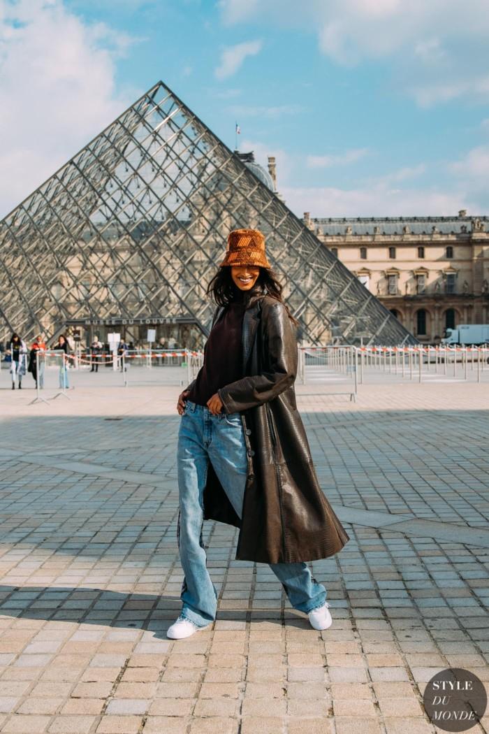 Paris Fall 2021 Street Style: Mona Tougaard