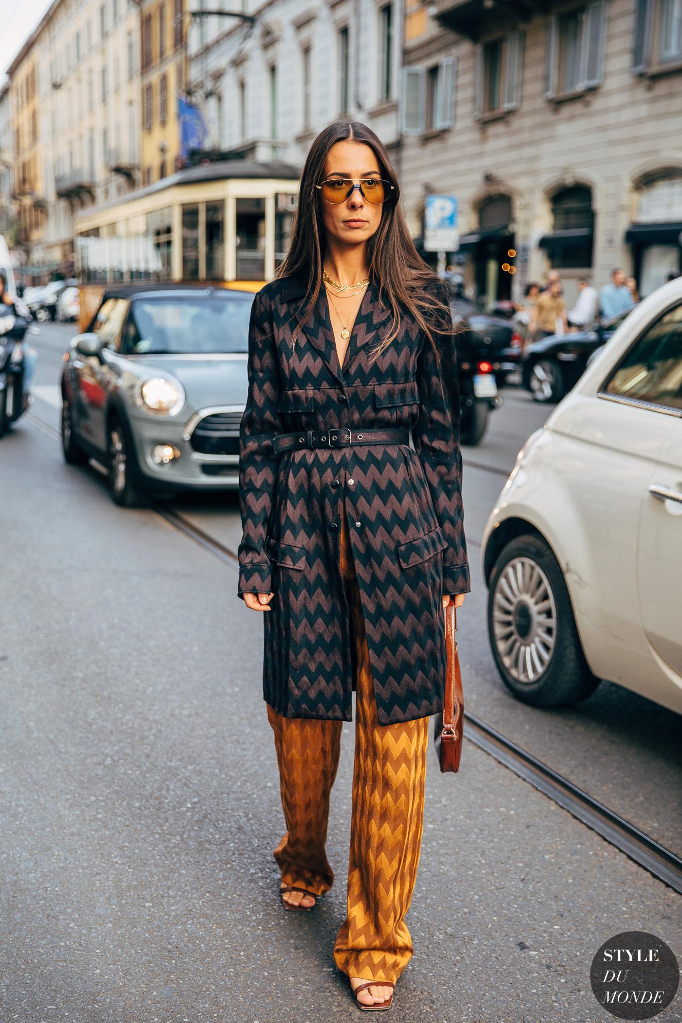 Milan SS 2020 Street Style: Alice Barbier