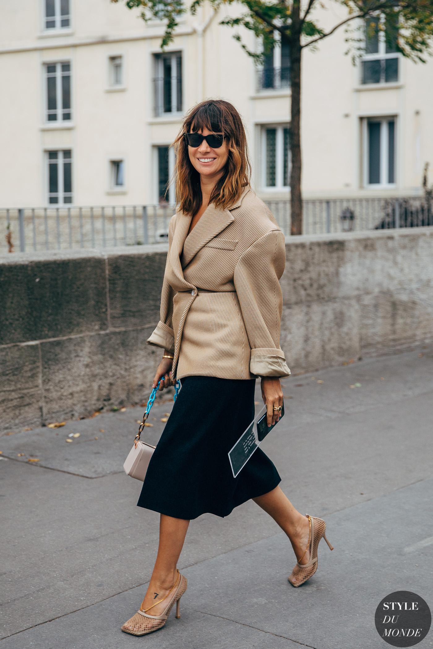 Paris SS 2020 Street Style: Natasha Goldenberg