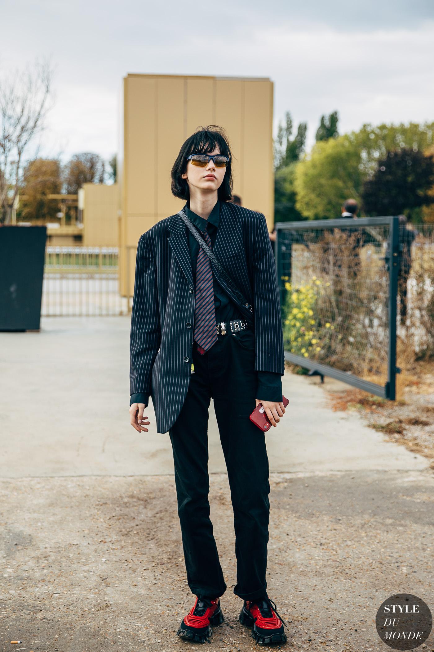 Paris SS 2020 Street Style: Steinberg