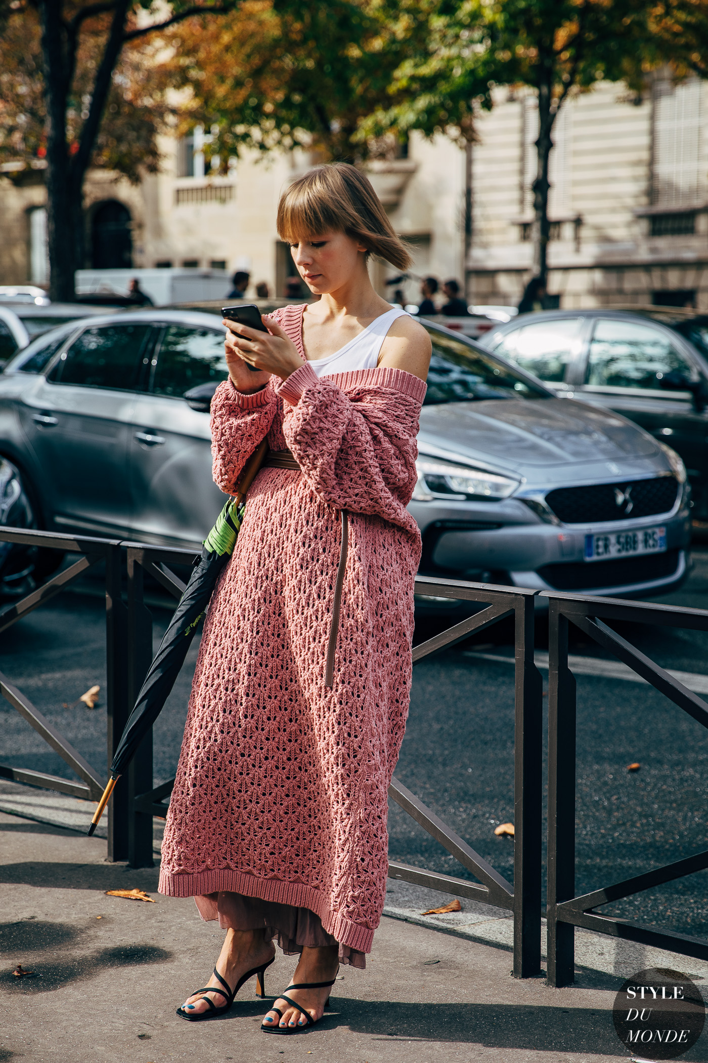 Paris SS 2020 Street Style: Vika Gazinskaya