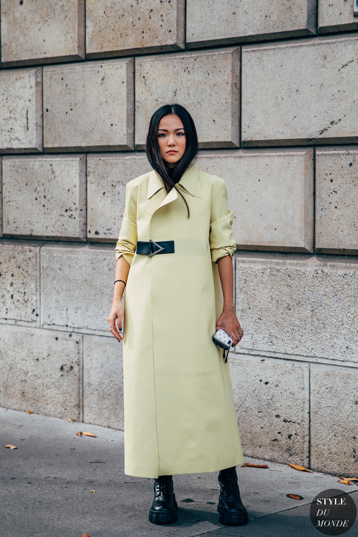 Paris SS 2020 Street Style: Yoyo Cao