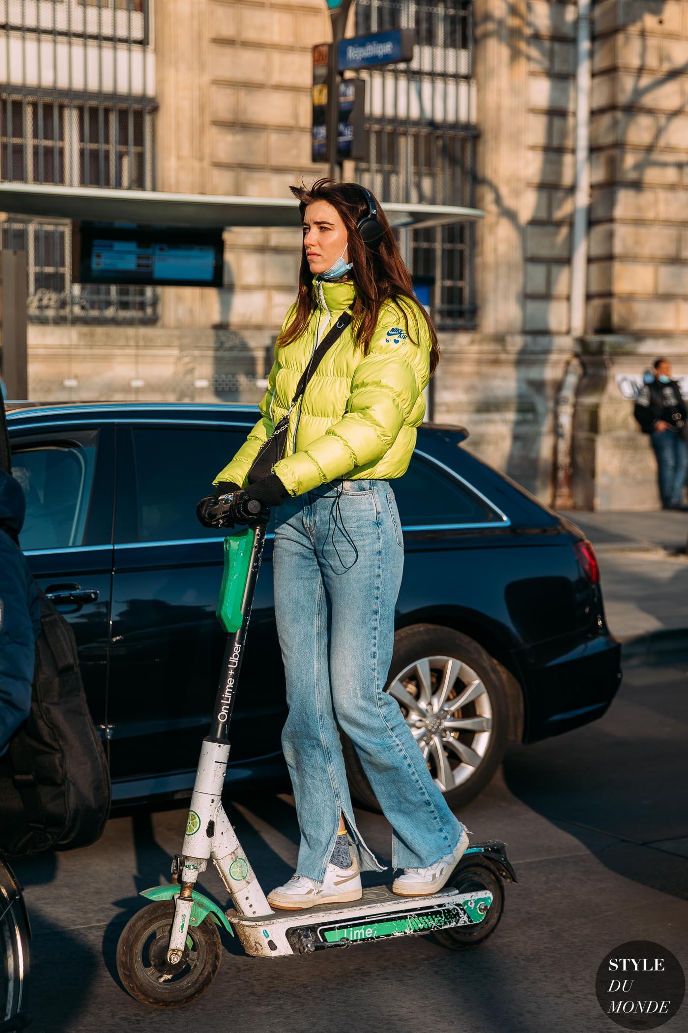 Paris Fall 2021 Street Style: Grace Hartzel