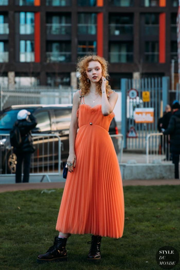 London Fall 2020 Street Style: Lily Nova