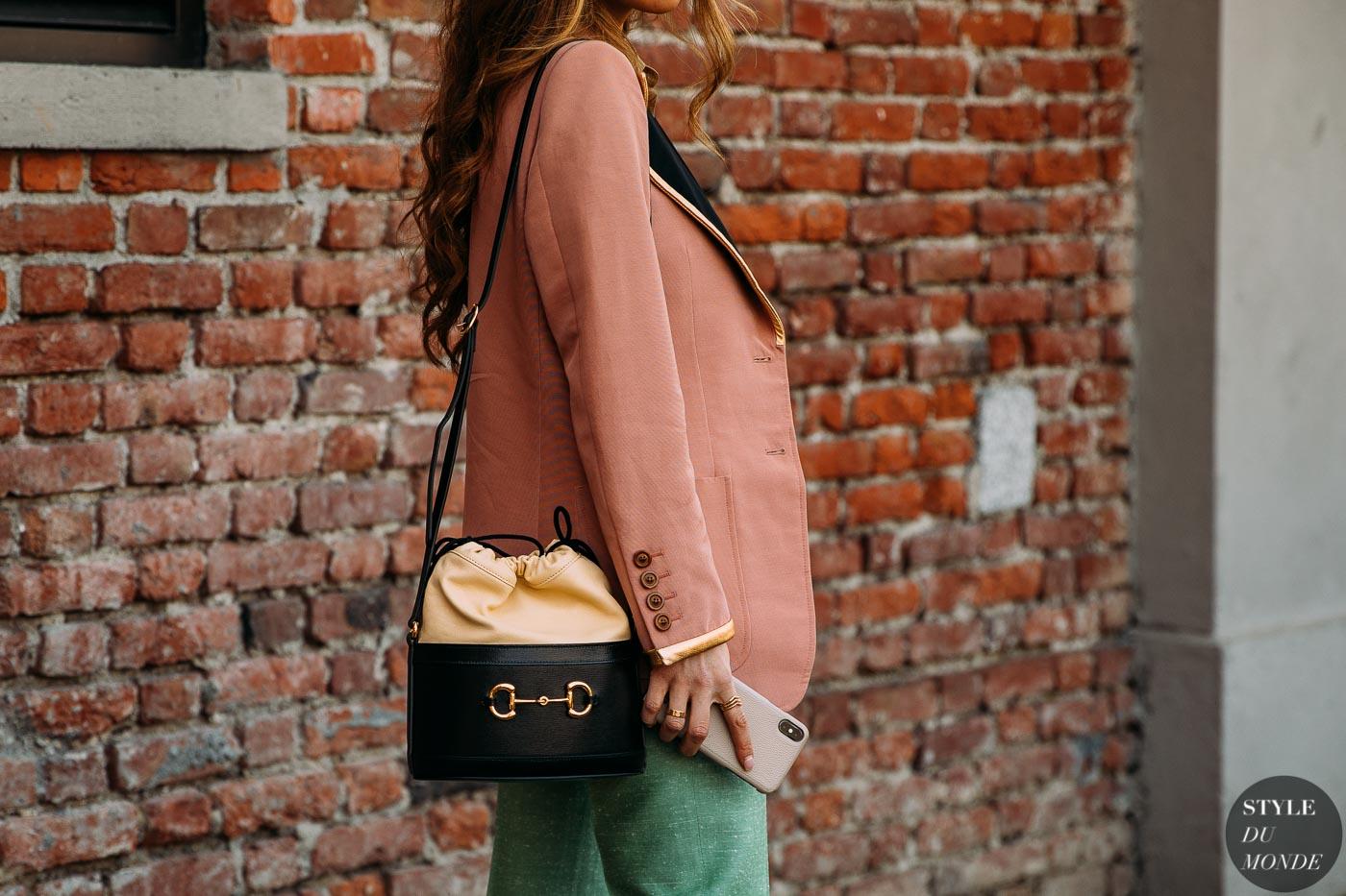 Milan Fall 2020 Street Style: Negin Mirsalehi