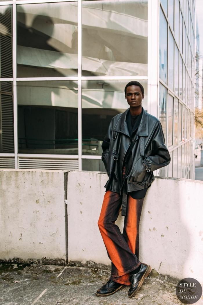 Paris Fall 2021 Street Style: Malick Bodian