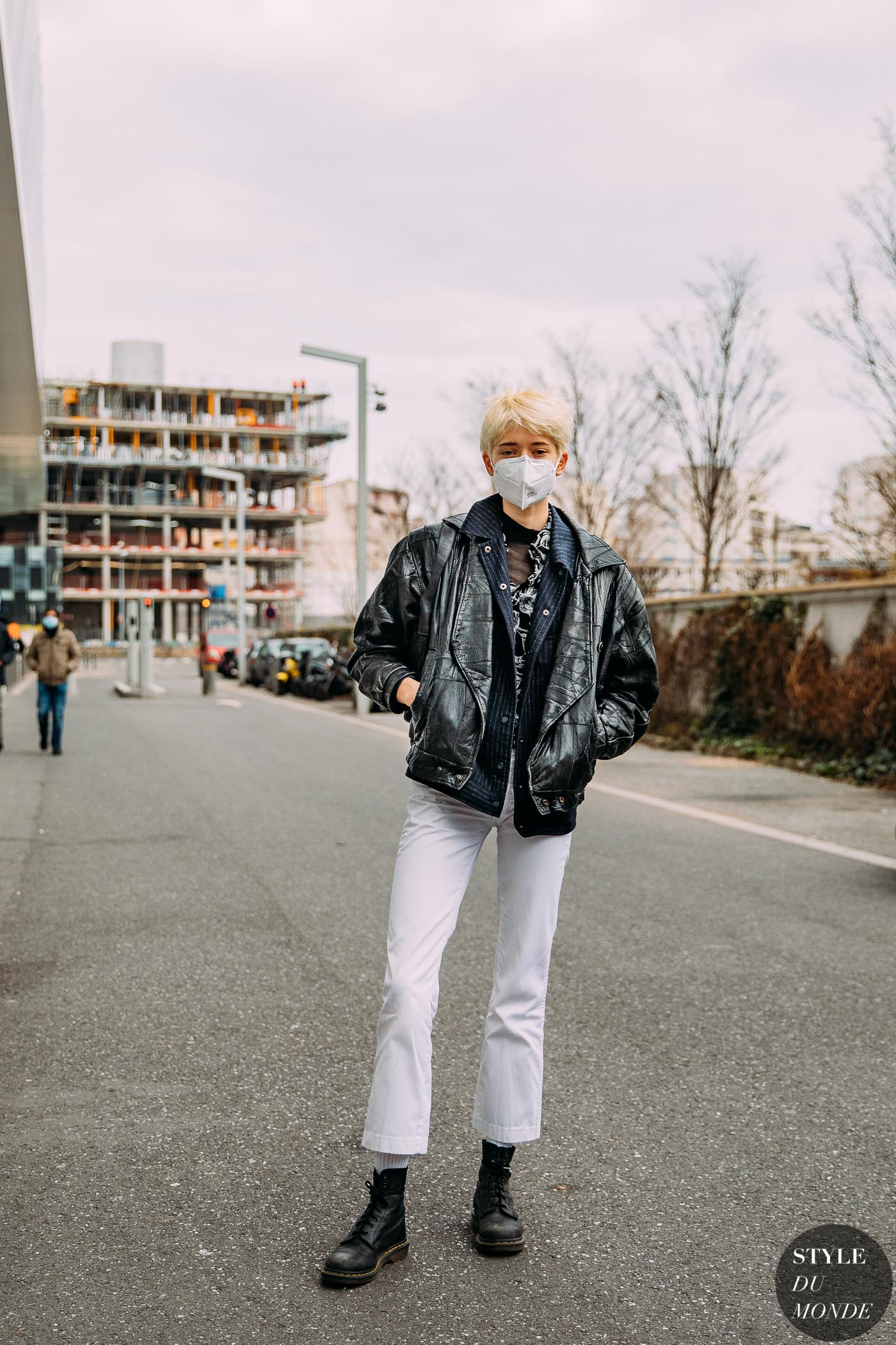 Paris Fall 2021 Street Style: Maike Inga